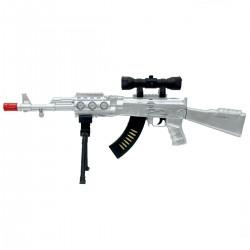 Combat Işıklı Sesli Tüfek