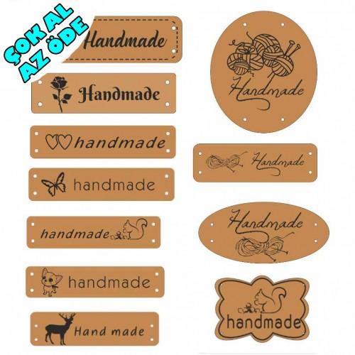 Deri Handmade Etiket