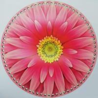 Desenli Sepet ( Tepsi ) Tabanı SP9983 Çiçek