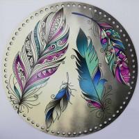 Desenli Sepet ( Tepsi ) Tabanı SP9979 Mozaik Yaprak