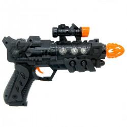 Electric Gun Lazerli Işıklı Sesli Tabanca