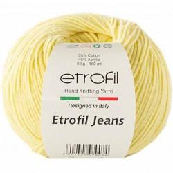 Etrofil Jeans Örgü İpi 007 Açık Sari