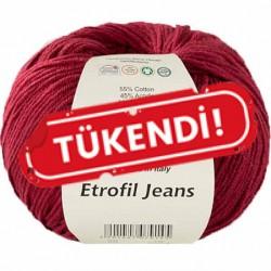 Etrofil Jeans Örgü İpi 015 Bordo
