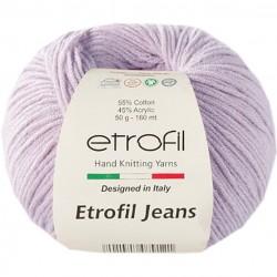 Etrofil Jeans Örgü İpi 016 Açık Lila