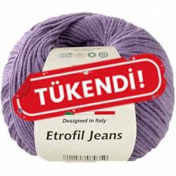 Etrofil Jeans Örgü İpi 017 Açık Mor