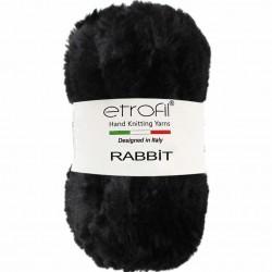 Etrofil Rabbit Örgü İpi 70906 Siyah