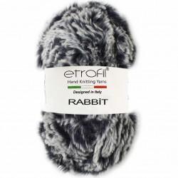 Etrofil Rabbit Örgü İpi 70548 Lacivert-Beyaz