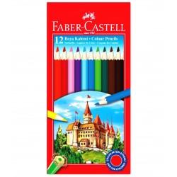 Faber Castell 12 Renk Kuru Boya