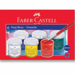 Faber Castell 6lı Guaj Boya