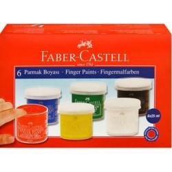 Faber Castell 6lı Parmak Boya