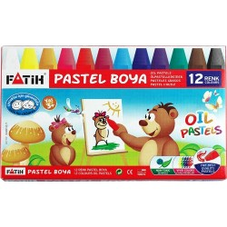 Fatih Pastel Boya 12 Renk