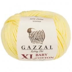 Gazzal Baby Cotton Xl Örgü İpi 3413 Sarı