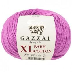 Gazzal Baby Cotton Xl Örgü İpi 3414 Lila