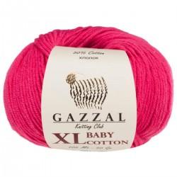Gazzal Baby Cotton Xl Örgü İpi 3415 Fuşya
