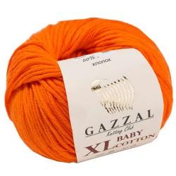 Gazzal Baby Cotton Xl Örgü İpi 3419 Turuncu