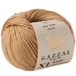 Gazzal Baby Cotton Xl Örgü İpi 3424 Bej