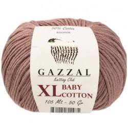 Gazzal Baby Cotton Xl Örgü İpi 3434 Açık Kahve