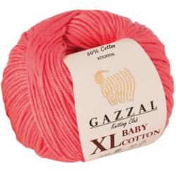 Gazzal Baby Cotton Xl Örgü İpi 3435 Pembe