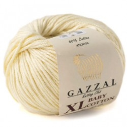 Gazzal Baby Cotton Xl Örgü İpi 3437 Krem