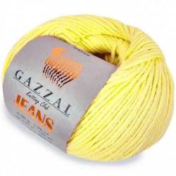 Gazzal Jeans Örgü İpi 1102 Bebe Sarı