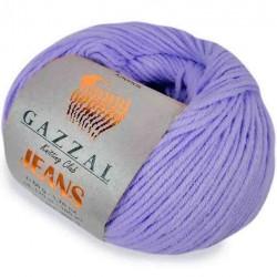 Gazzal Jeans Örgü İpi 1103 Lila
