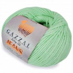 Gazzal Jeans Örgü İpi 1107 Yeşil