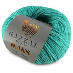 Gazzal Jeans Örgü İpi 1108 Turkuaz