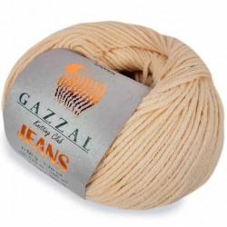 Gazzal Jeans Örgü İpi 1113 Krem