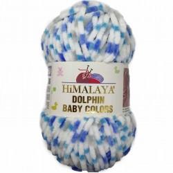 Himalaya Dolphin Baby Colors Kadife Örgü İpi 80421