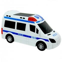 Işıklı Sesli Pilli Polis Arabası