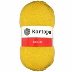 Kartopu Kristal Lif İpi 301 Koyu Sarı