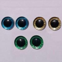 Simli Amigurumi Kilitli Göz 20 mm ( 1 Çift )