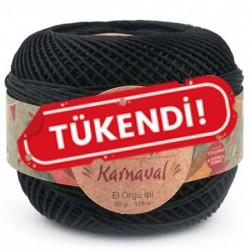 Knit Me Karnaval Örgü İpi Siyah