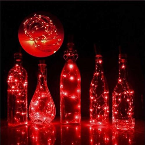 Led Işık Pilli 3 Metre 3 Fonksiyon Kırmızı