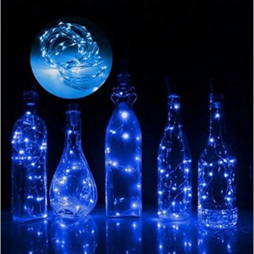 Led Işık Pilli 3 Metre 3 Fonksiyon Mavi