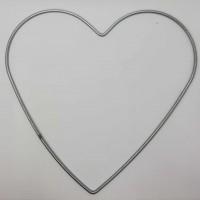 Metal Makrome Aparatı Kalp