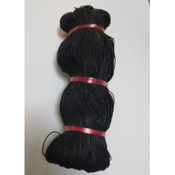 Mumlu İp Siyah ( 200 Gr )