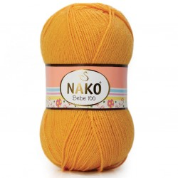 Nako Bebe 100 Örgü Bebe İpi 184 Sarı