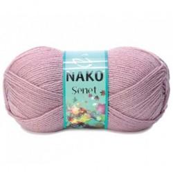Nako Şenet El Örgü İpi 10275 Pembemsi Pudra