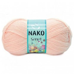 Nako Şenet El Örgü İpi 11541 Pudra