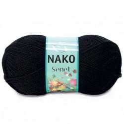 Nako Şenet El Örgü İpi 217 Siyah