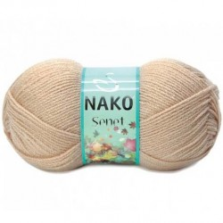 Nako Şenet El Örgü İpi 219 Açık Bej