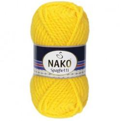 Nako Spaghetti Örgü İpi 1253 Sarı