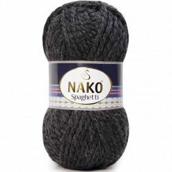 Nako Spaghetti Örgü İpi 23624 Antrasit Melanj