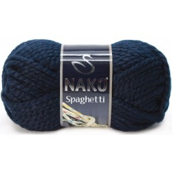 Nako Spaghetti Örgü İpi 3088 Lacivert