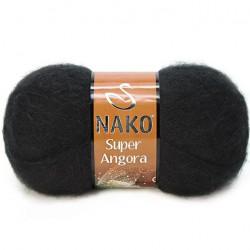Nako Süper Angora El Örgü İpi 217 Siyah