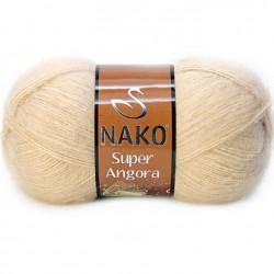 Nako Süper Angora El Örgü İpi 219 Açık Bej