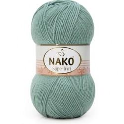 Nako Süper İnci El Örgü İpi 11537 Pastel Yeşil