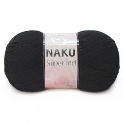 Nako Süper İnci El Örgü İpi 217 Siyah