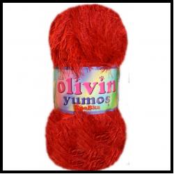 Olivin Yumoş Kedi İpi Kırmızı